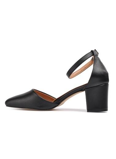 Maje 1901 Ten Kadın Topuklu Ayakkabı Siyah